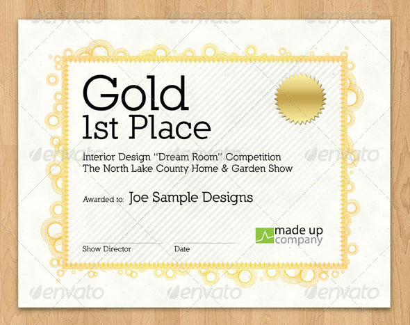 35 best certificate template designs web graphic design bashooka stylish award certificate download template yadclub Gallery