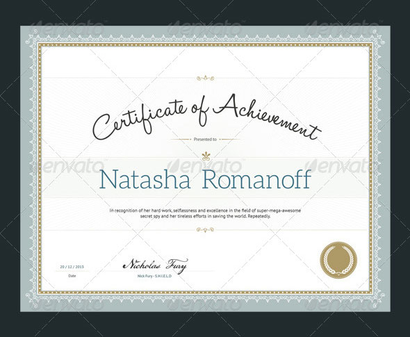 35 best certificate template designs web graphic design bashooka certify award certificates download template yelopaper Gallery