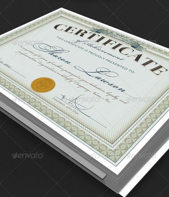Multipurpose Certificate Template