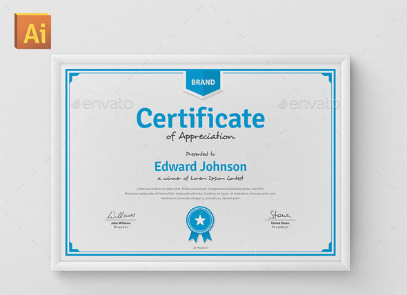 35 Best Certificate Template Designs