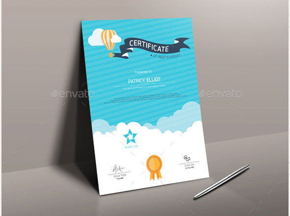 35 Best Certificate Template Designs | Web & Graphic Design | Bashooka