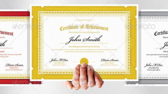 35 best certificate template designs web graphic design bashooka modern classy diploma award certificate download template yelopaper Gallery