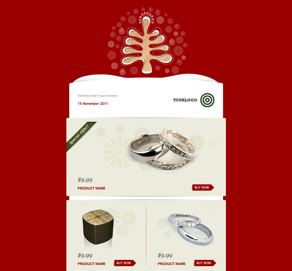 wonderful christmas new year email templates web graphic simply christmas 2