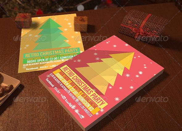 Christmas Flyer Mockups