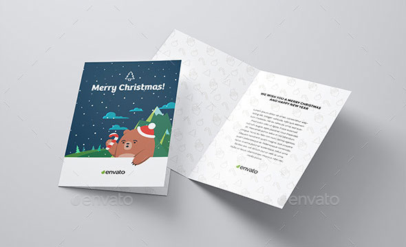 Download Invitation / Greeting Card Mock Up