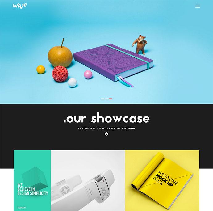 Wave | Agency & Freelancer Portfolio WP Theme