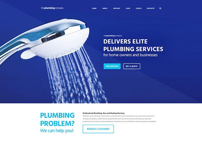 Plumbing - Repair, Building & Construction Theme