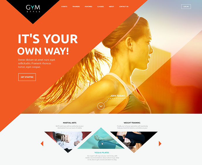 Sport & Fitness Club WordPress Theme