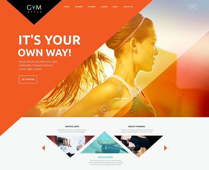 Sport & Fitness Club WordPress Theme