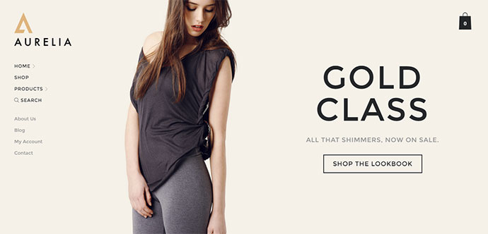 Aurelia - Fashion / Retail WooCommerce Theme