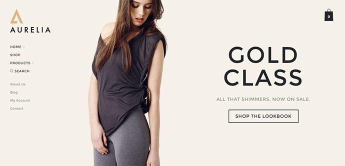 Aurelia - Fashion / Retail WooCommerce Theme