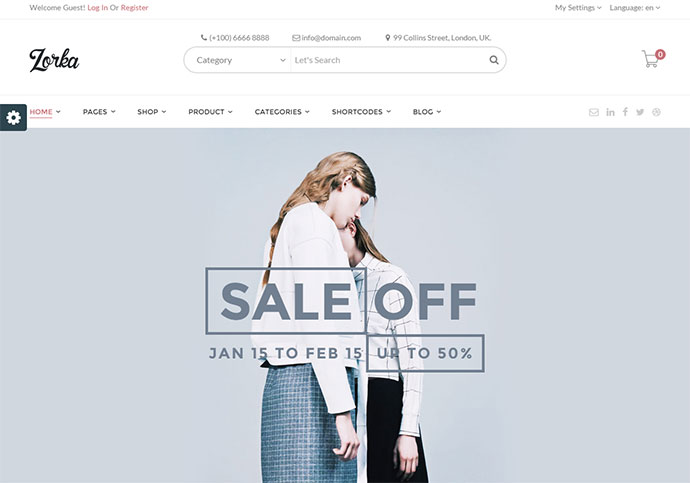 Wonderful Fashion WooCommerce Theme