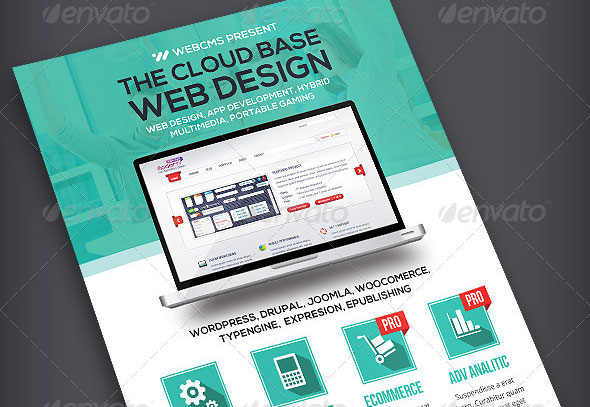 Web Design Flyer | Volume 2