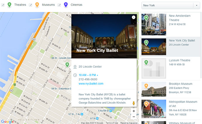 Map'n'Points. Responsive Store Locator for WP.