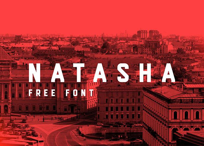 Natasha | FREE FONT by Kash Singh