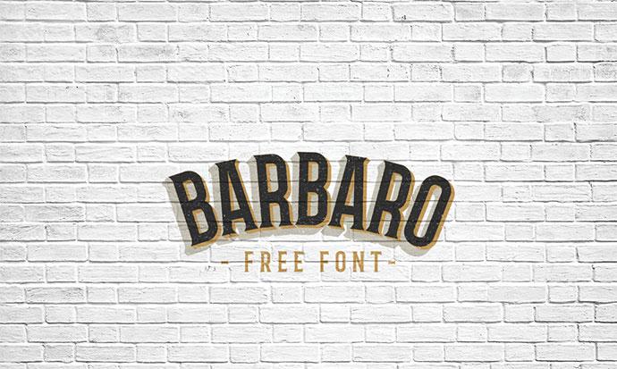 Barbaro Font by Iván Núñez