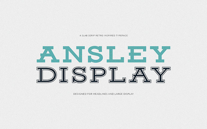 Ansley Display - Free Font by Kady Jesko