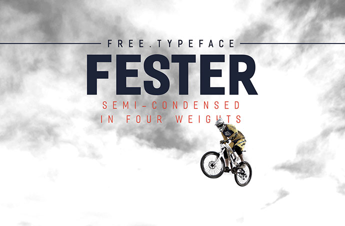 FESTER - Free Typeface by Nawras Moneer
