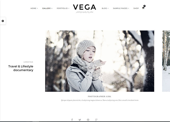 20 Cool Horizontal WordPress Themes | Web & Graphic Design | Bashooka