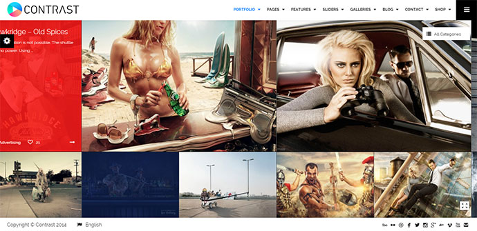 Elite Photography & Portfolio WP Theme