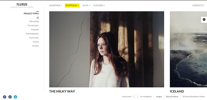 Portfolio Theme for Photographers