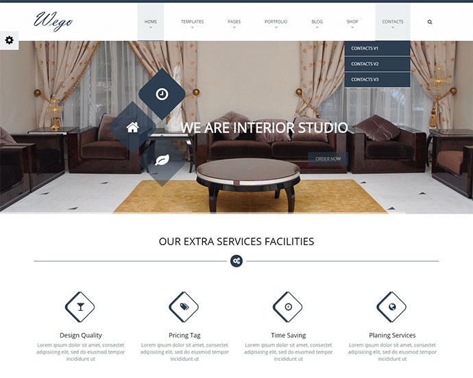 Wego - HTML5 Responsive Business Premium Template