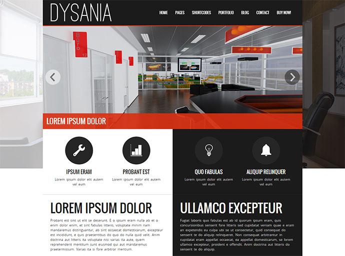 Dysania- Responsive Multi-Purpose HTML Template