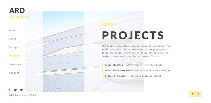 ARD - Architect HTML Template