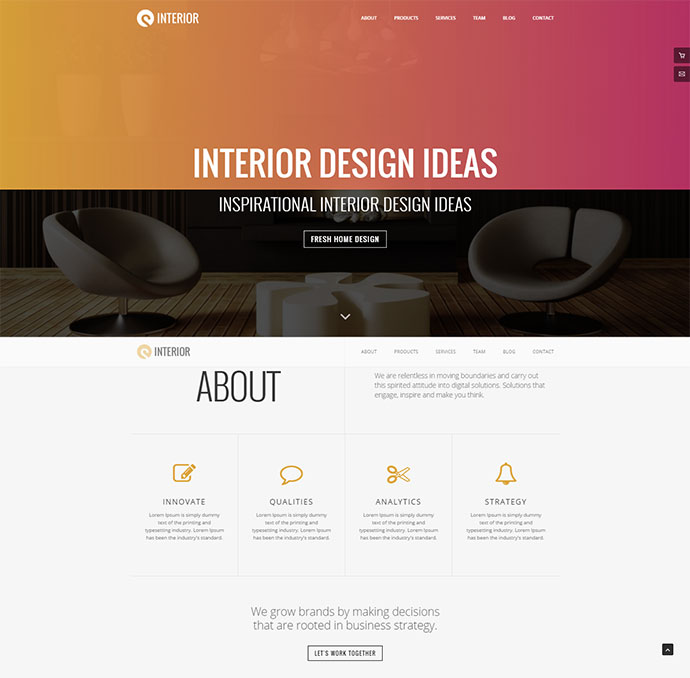25 Architect & Interior Website Design HTML Templates – Web ... on 2015 new home business opportunities, 2015 new exterior paint colors, 2014 new home plans,