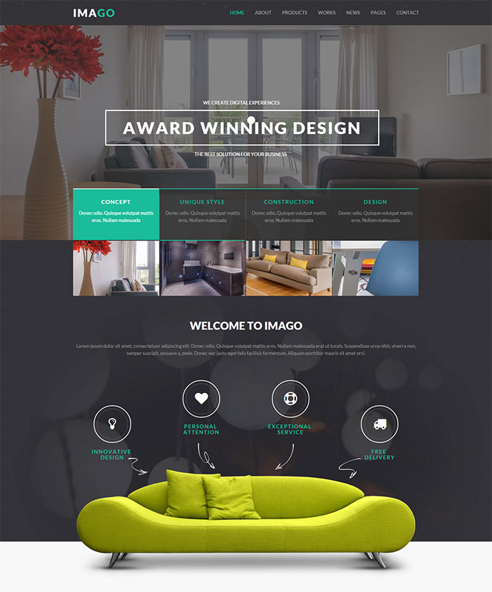 Imago - Multipurpose HTML5 Template