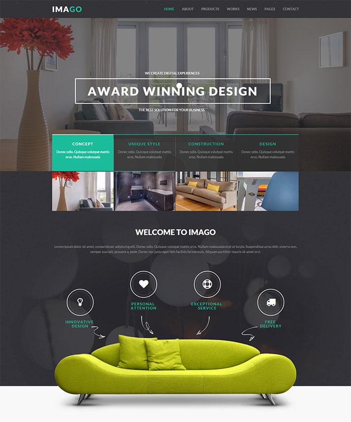 Charmant Imago   Multipurpose HTML5 Template