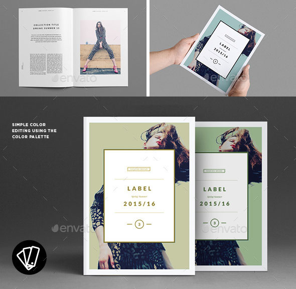 40 beautiful indesign fashion brochure templates web for Online product catalog template