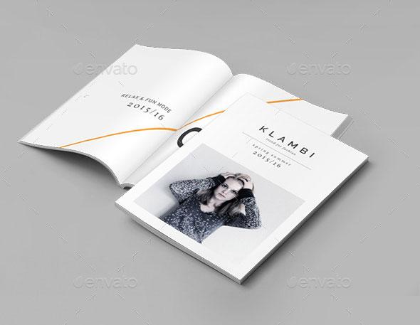 Lookbook Layout Template Pasoevolistco - Fashion brochure templates