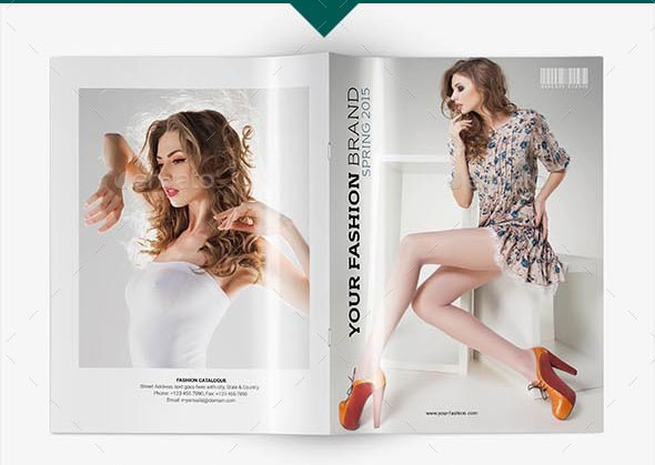 Fashion Catalogue Template V.1