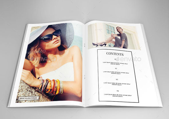 40 beautiful indesign fashion brochure templates  u2013 bashooka