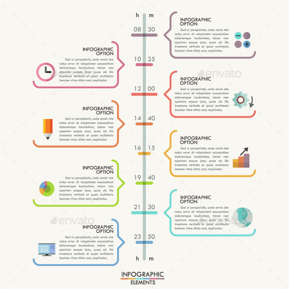 25 Amazing Timeline Infographic Templates : Web u0026 Graphic ...