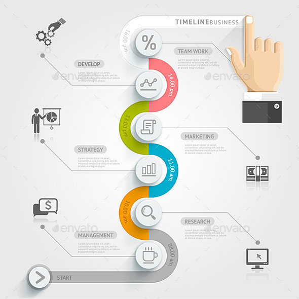 Business Timeline Infographics