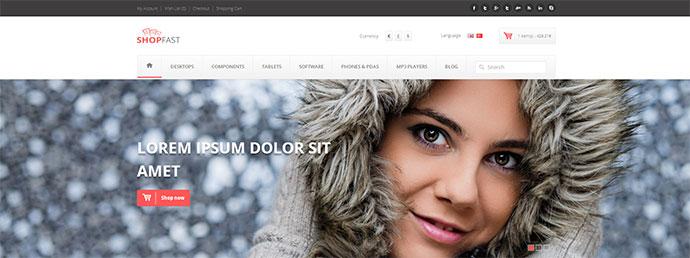 Shopfast Multipurpose Retina Opencart Theme