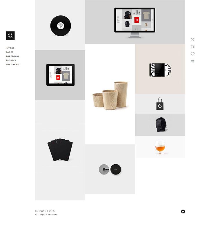 OTTO - WordPress with AJAX Multi-Concept Portfolio