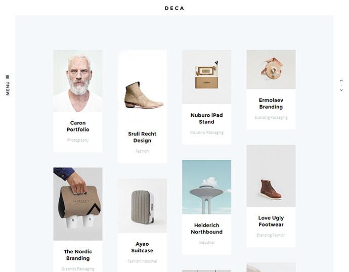 DECA - Creative Multi Concept WP Theme