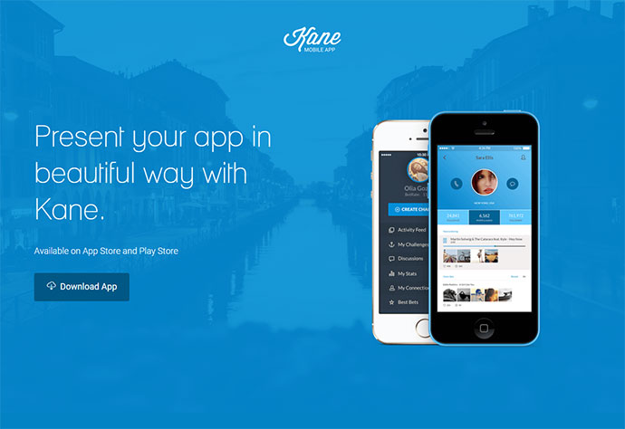 20 best html mobile app landing page templates web graphic