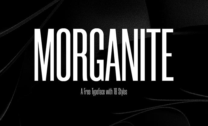 Morganite font