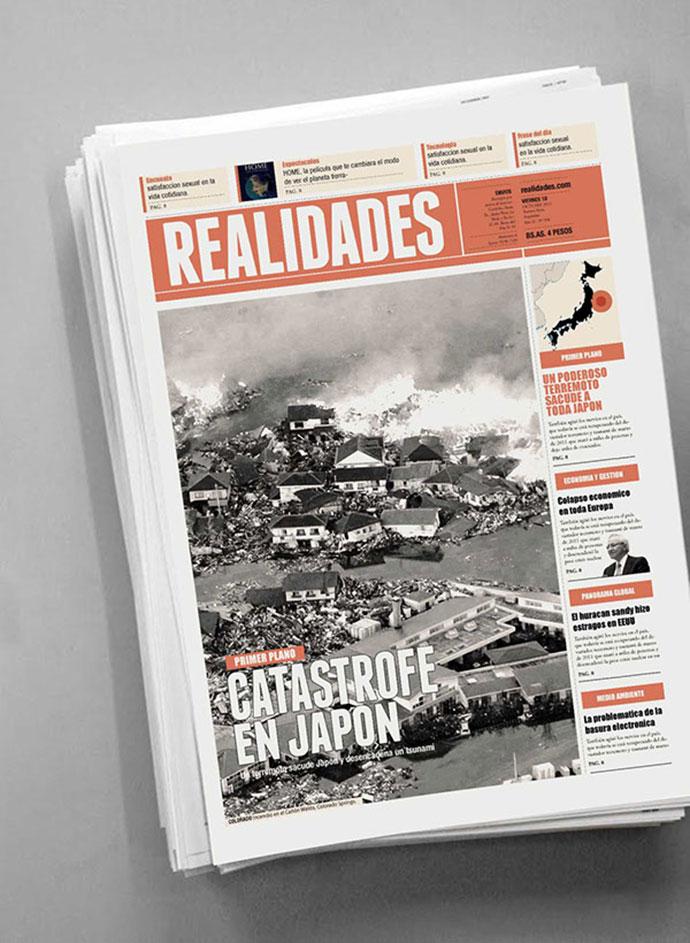 Newspaper Design_01 by Boris Vargas Vasquez
