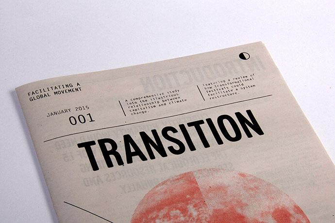 Transition Newspaper by Jordan Harrison Reader