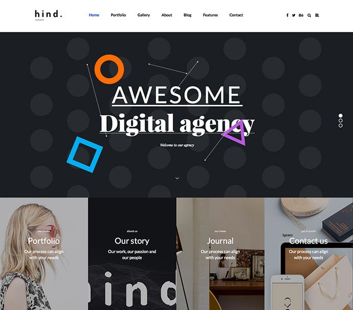 Multi-Concept Portfolio WordPress Theme