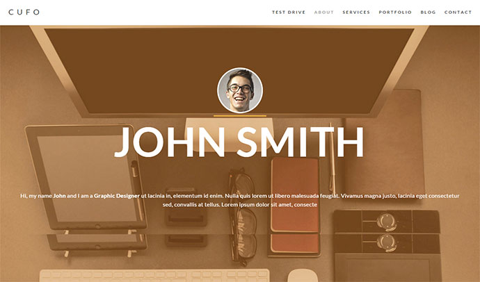 Responsive Customizable Portfolio Theme