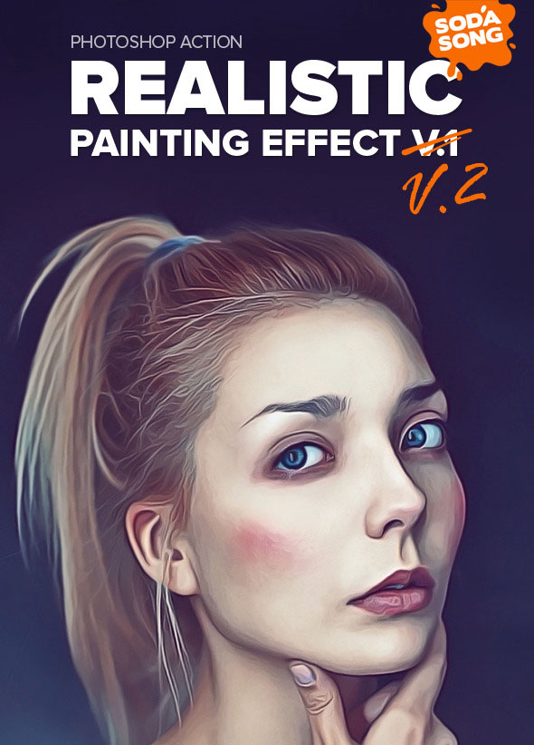 Realistic Painting Effect V2 - Painting Action