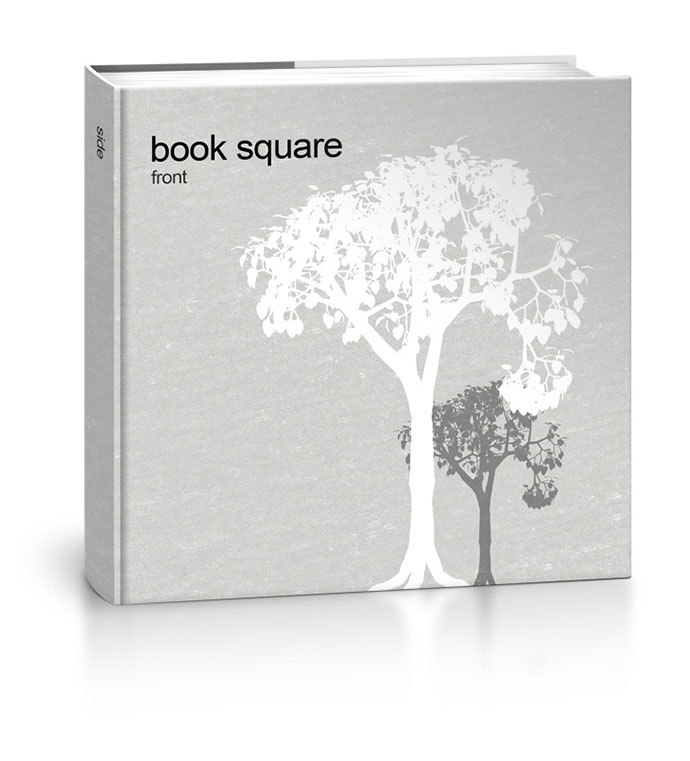 Book Square - Free Mock-up