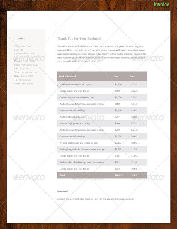 Simply Premium 4 – Resume, Letterhead, Invoice