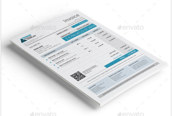 Best PSD Invoice Templates For Freelancer Web Graphic - Best invoice template